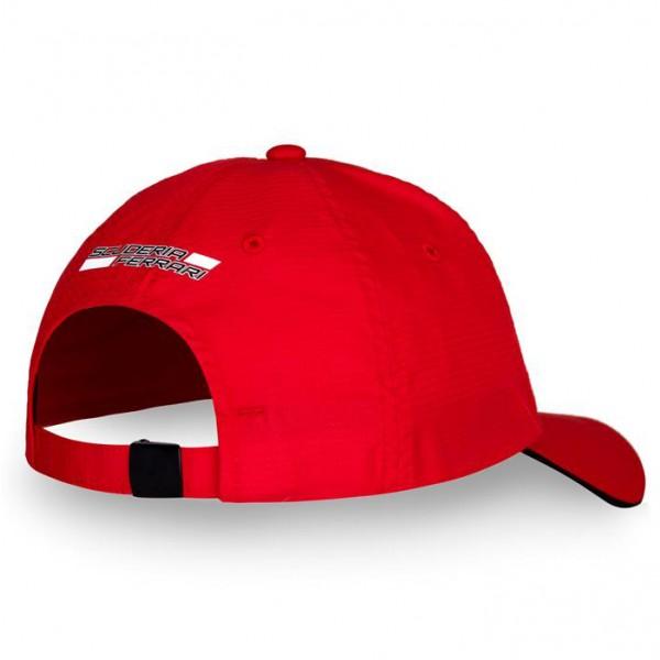 Scuderia Ferrari Cap Cap Scudetto Carbon red