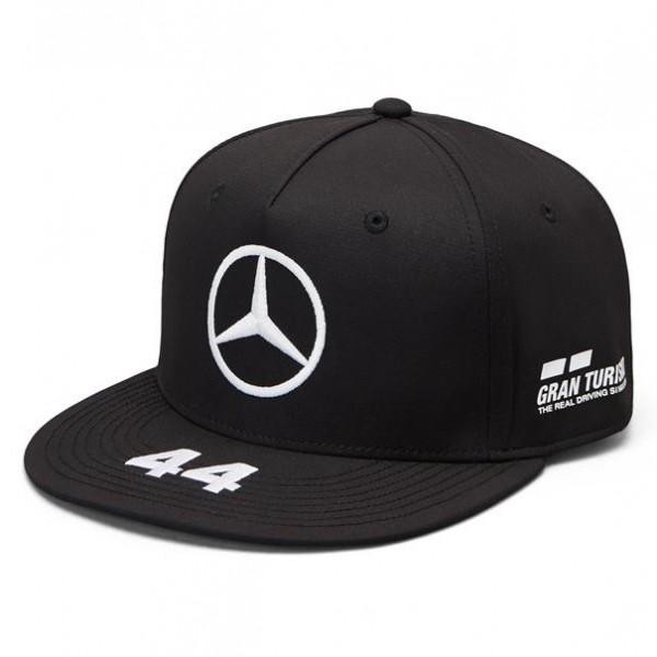 Mercedes AMG Petronas Motorsport 2019 F1™ Cap Flat Brim schwarz