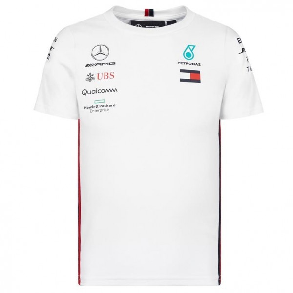 Mercedes AMG Petronas Motorsport 2019 F1™ driver t-shirt kids white