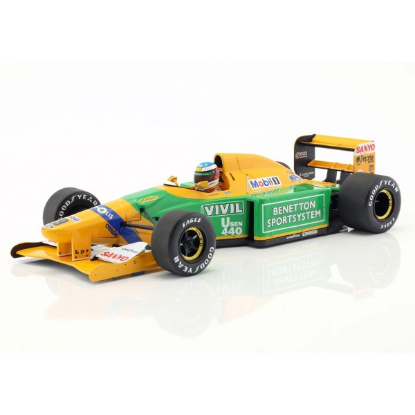 Michael Schumacher Benetton B192 #19 3rd Italy GP F1 1992 1:18