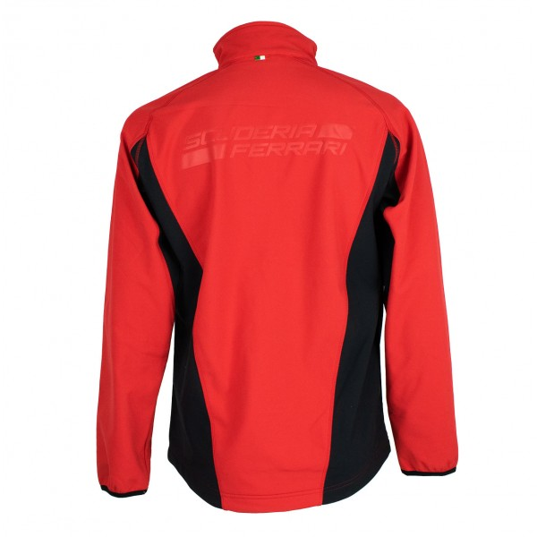 Scuderia Ferrari Softshell jacket red-black