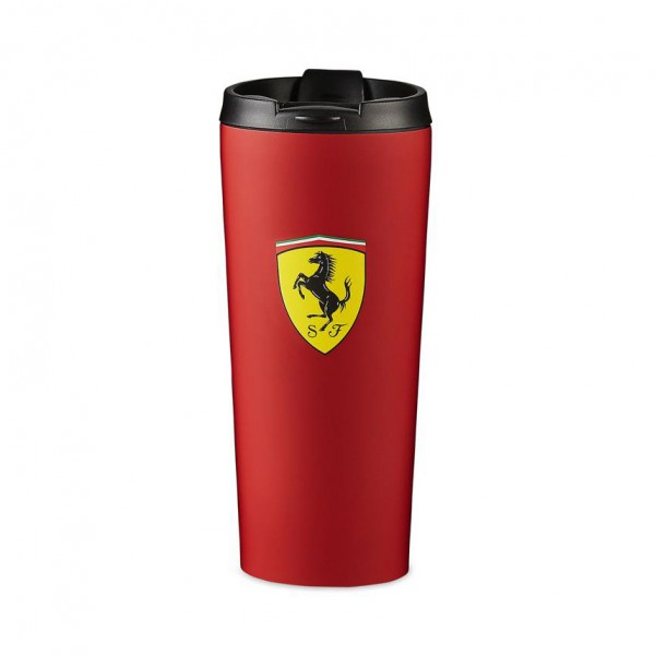 Scuderia Ferrari Thermo Drinking Bottle red