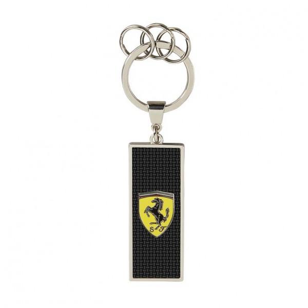 Scuderia Ferrari Schlüsselanhänger Carbon