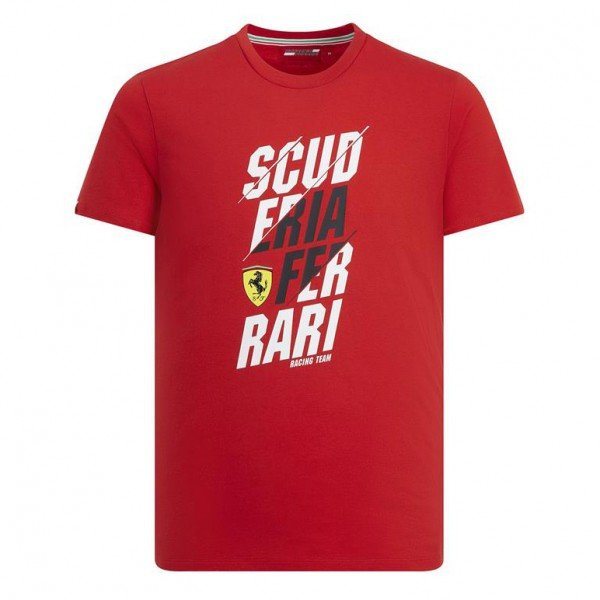 Scuderia Ferrari Graphic T-Shirt red