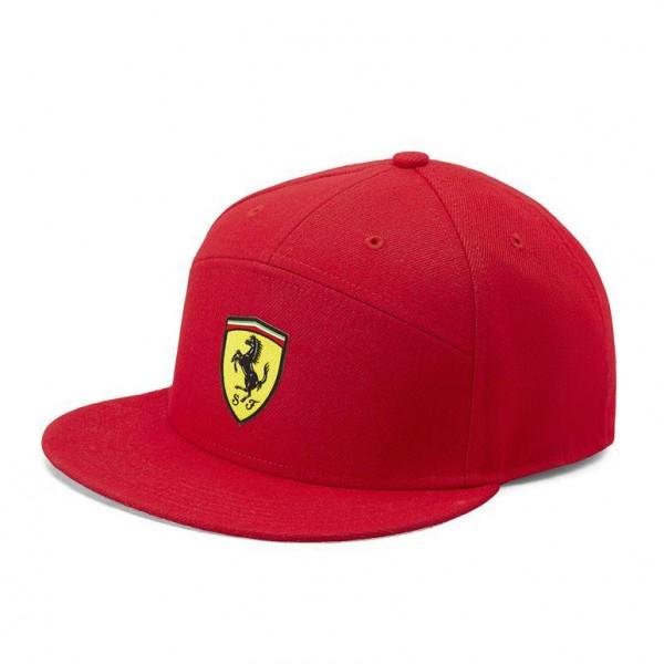 Scuderia Ferrari Cap Flat Brim rot