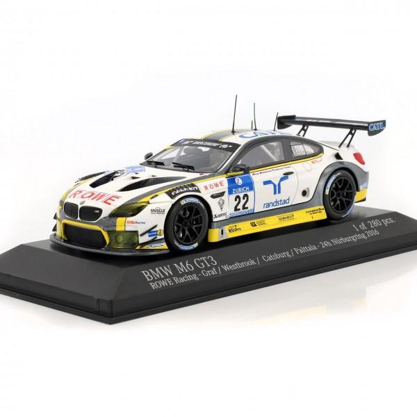 BMW M6 GT3 #22 24h Nürburgring 2016 Rowe Racing 1:43