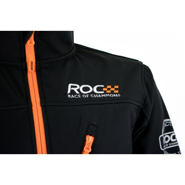 Softshelljacket ROC detail front