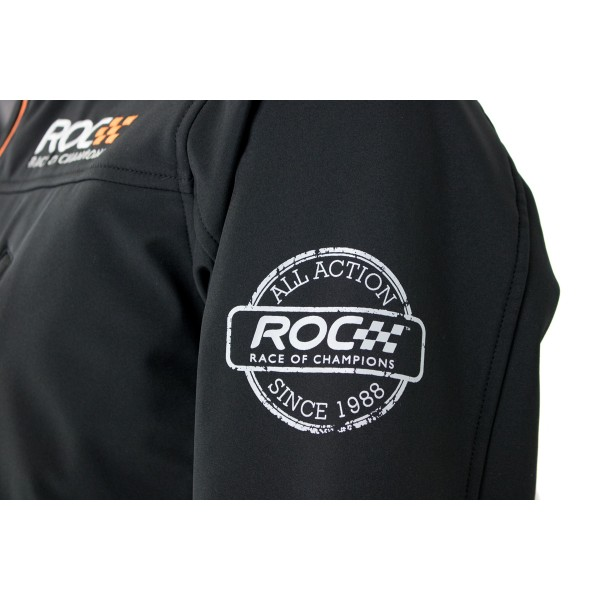 Softshelljacket ROC detail sleeve