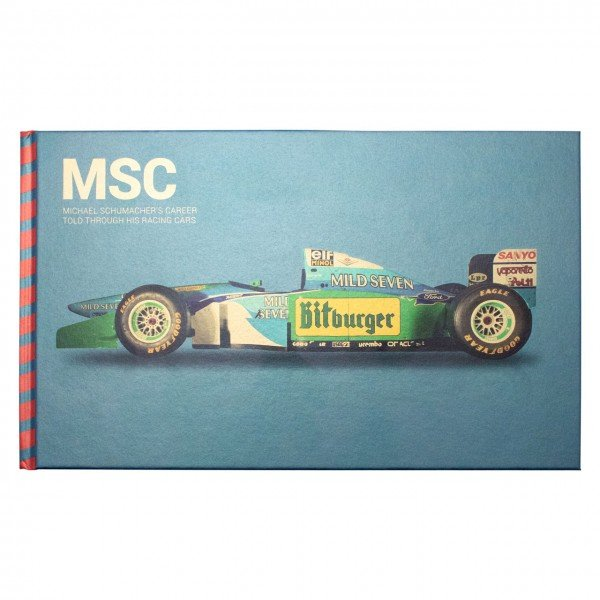 Michael Schumacher MSC book Blue
