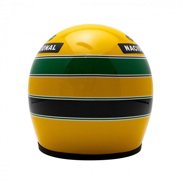 Casco Ayrton Senna 1987 Escala 1:2