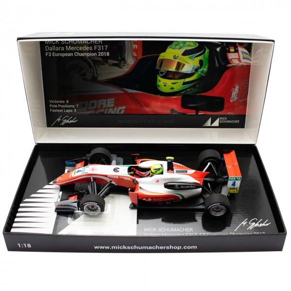 Mick Schumacher Dallara Mercedes F317 Prema Racing Formel 3 1:18