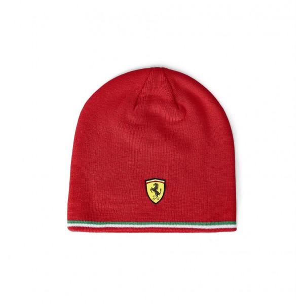 Scuderia Ferrari knitted cap red