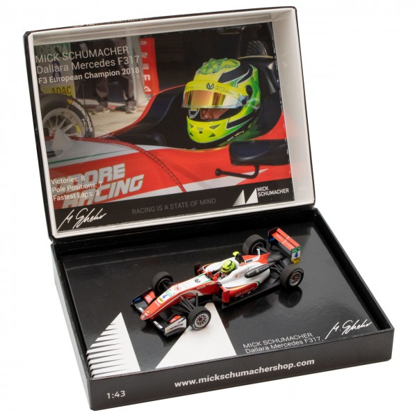 Mick Schumacher Dallara Mercedes F317 F3 Campione Europeo 2018 1/43