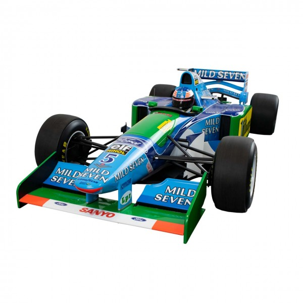 Michael Schumacher Ford B194 F1™ Champion du monde 1994 1/8