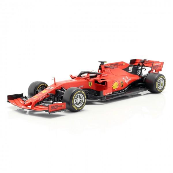 Sebastian Vettel Ferrari SF90 #5 Formula 1 2019 1:18