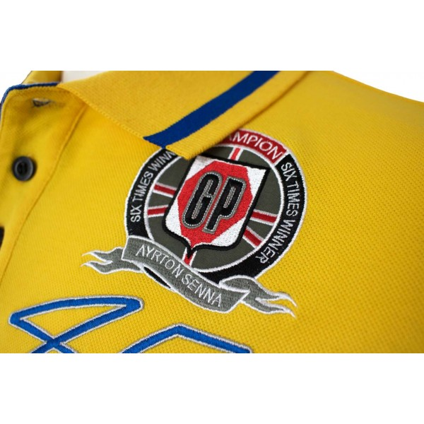 Ayrton Senna Poloshirt Monaco Champion batch