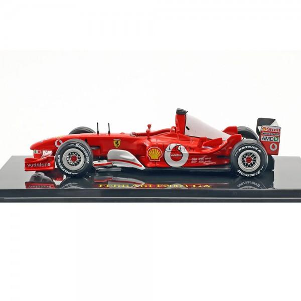 Michael Schumacher Ferrari F2003-GA #1 Campeón Mundial de Fórmula 1 2003 1/43