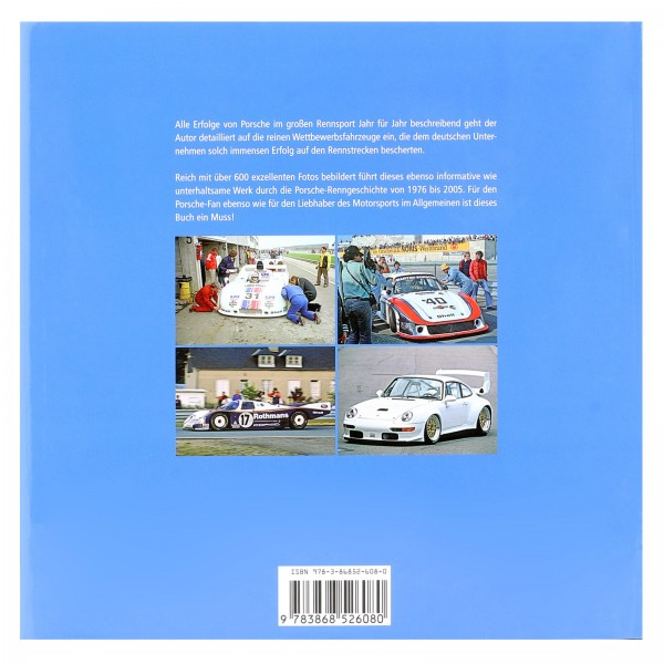 Book Porsche Race cars since 1975 / by Brian Long