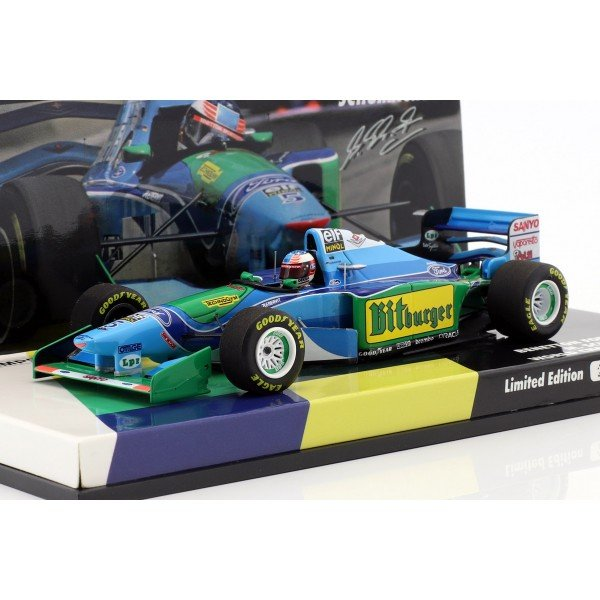 Michael Schumacher Benetton B194 #5 World Champion Formel 1 1994 1:43
