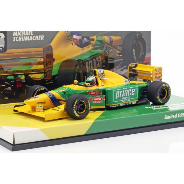Michael Schumacher Benetton B193B #5 Monaco GP Formula 1 1993 1:43