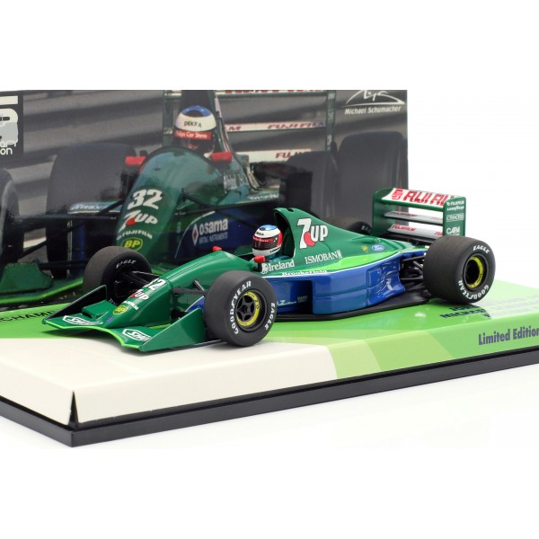 Michael Schumacher Jordan J191 #32 Práctica libre Bélgica GP F1 1991 1:43