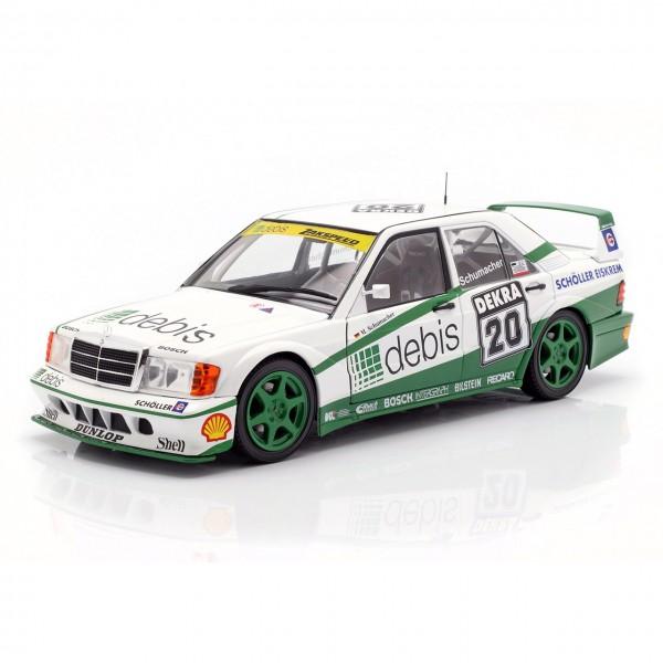 Michael Schumacher Mercedes-Benz 190E Evo2 #20 DTM 1991 1:18