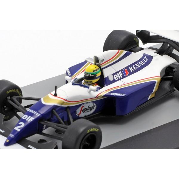 Ayrton Senna Williams FW16 #2 Formula 1 GP Brazil 1994 1/43