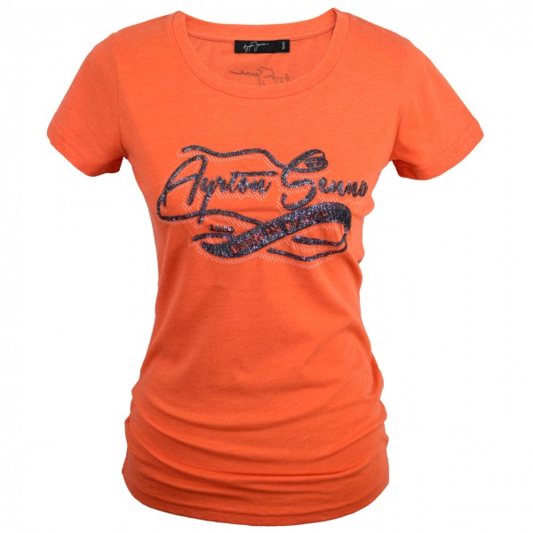 Ayrton Senna T-Shirt Ladies Born in Brasil