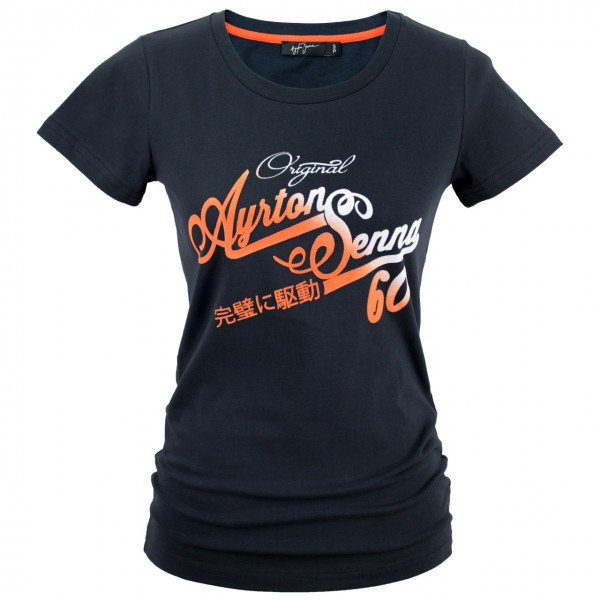 Ayrton Senna T-Shirt Ladies Original 1960