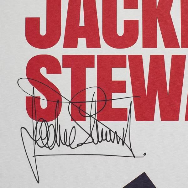 Poster Sir Jackie Stewart - Helmet - 1969