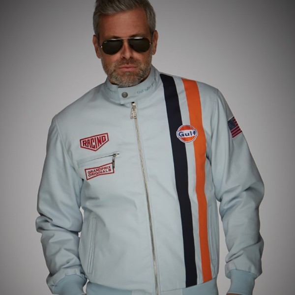 Gulf Jacket Michael Delaney gulf blue - limited