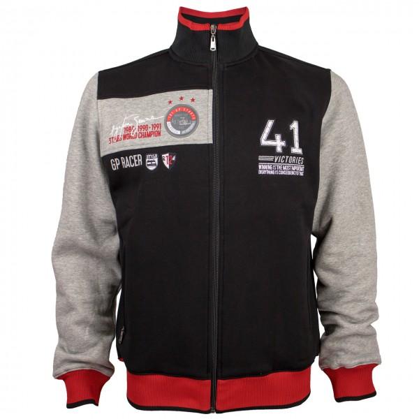 Ayrton Senna Sweat Jacket 41 Victories