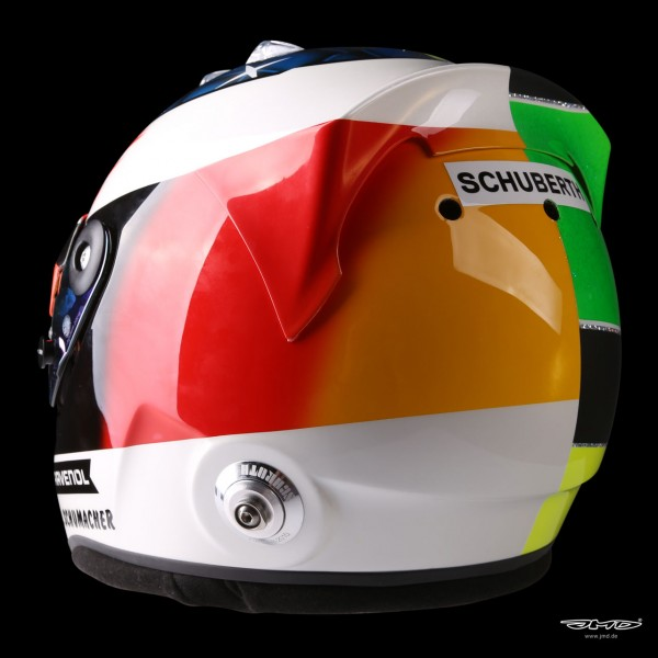 Mick Schumacher replica helmet 1:1 2017