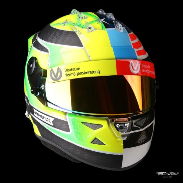 Réplica de casco Mick Schumacher 1:1 2017