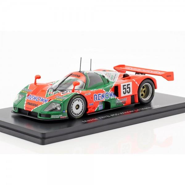 Mazda 787B #55 winner 24h LeMans 1991 Weidler, Herbert, Gachot 1:43