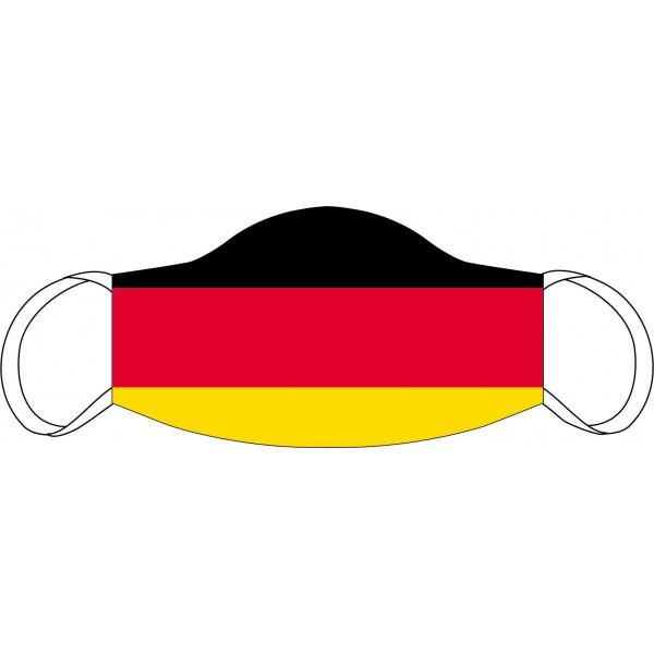 Masque buccal et nasal Drapeau de l'Allemagne