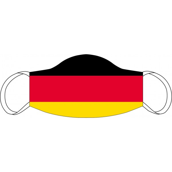 Mund-Nasen Maske Deutschland Fahne