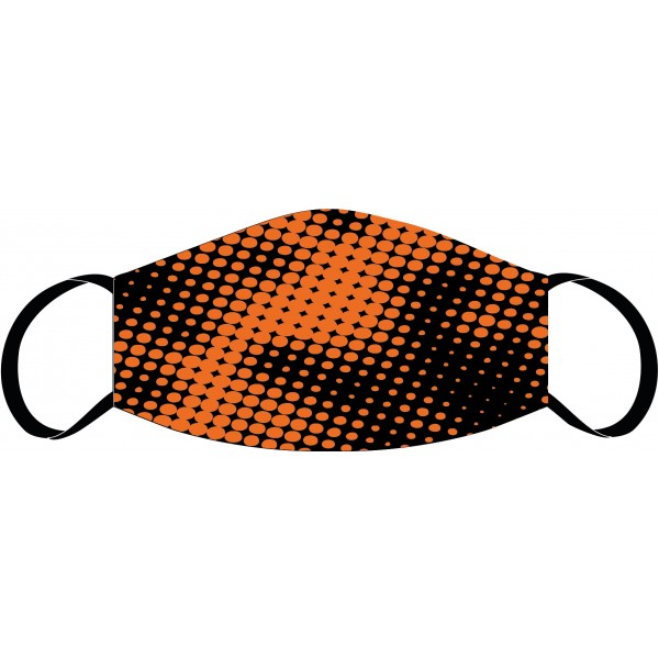 Mouth and nose mask Tech orange