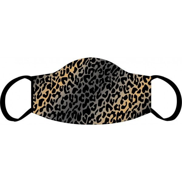 Masque buccal et nasal Leopard