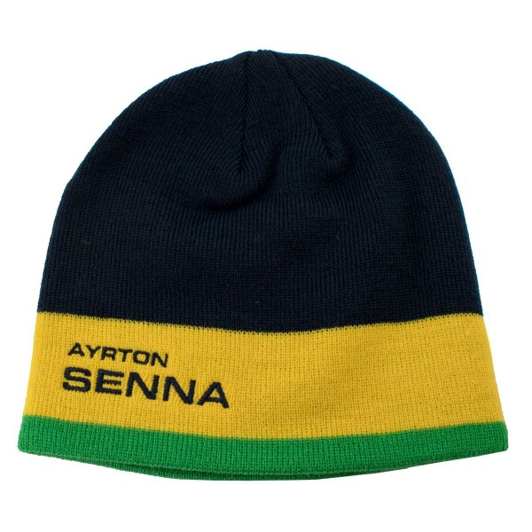Ayrton Senna Beanie Racing front
