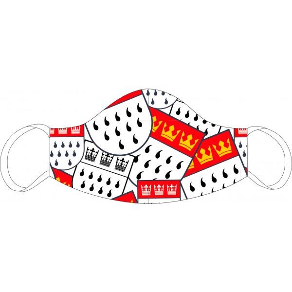 Mund-Nasen Maske Köln-Wappen