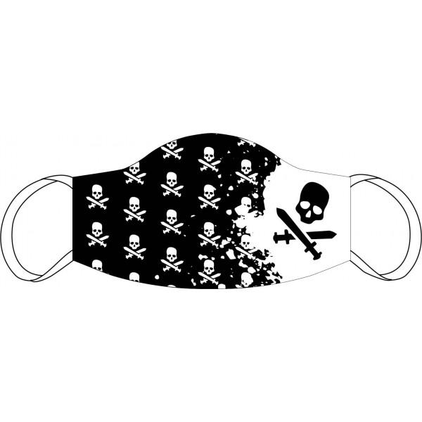 Maschera bocca e naso Pirata