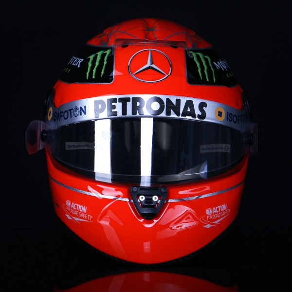 Michael Schumacher Replika Helm 1:1 Final 2012