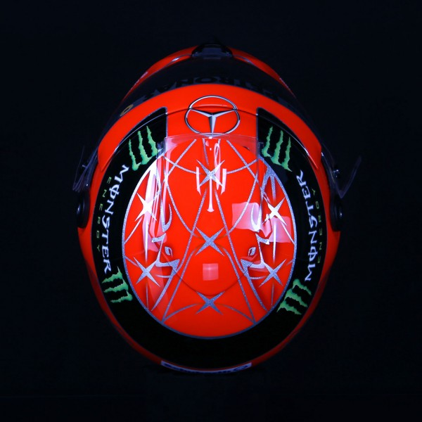 Michael Schumacher replica helmet 1:1 2012