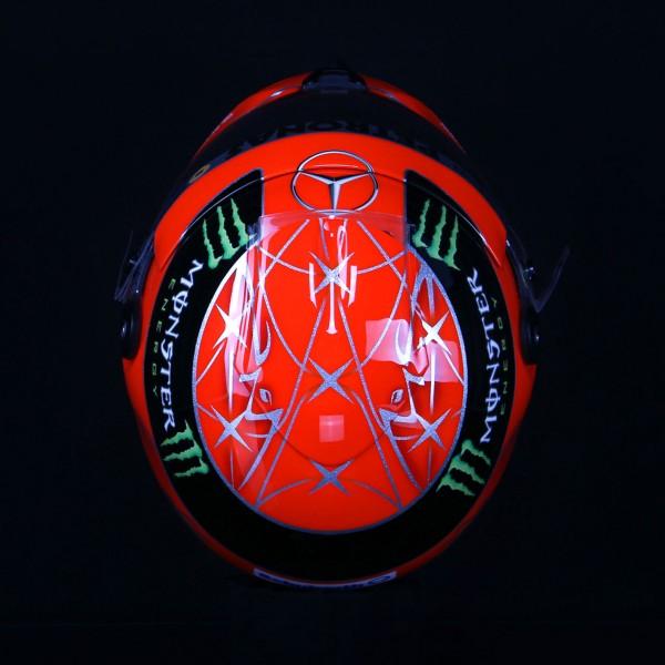 Michael Schumacher replica helmet 1:1 2012