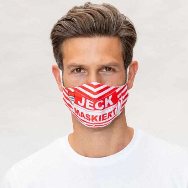 Mund-Nasen Maske Jeck maskiert