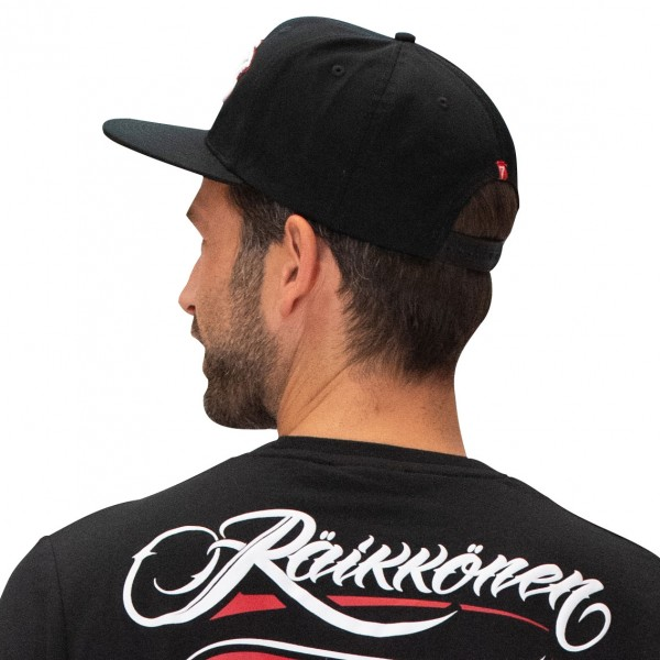 Kimi Räikkönen Cap Script Logo Flatbrim black