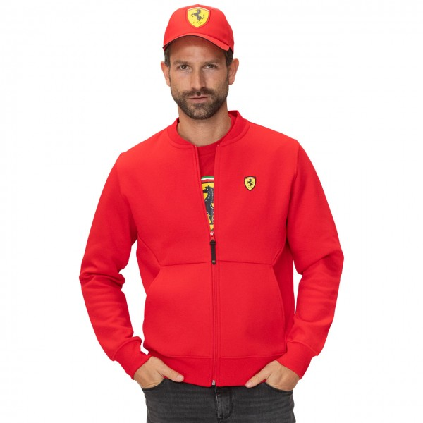 Scuderia Ferrari Sweat Jacket red