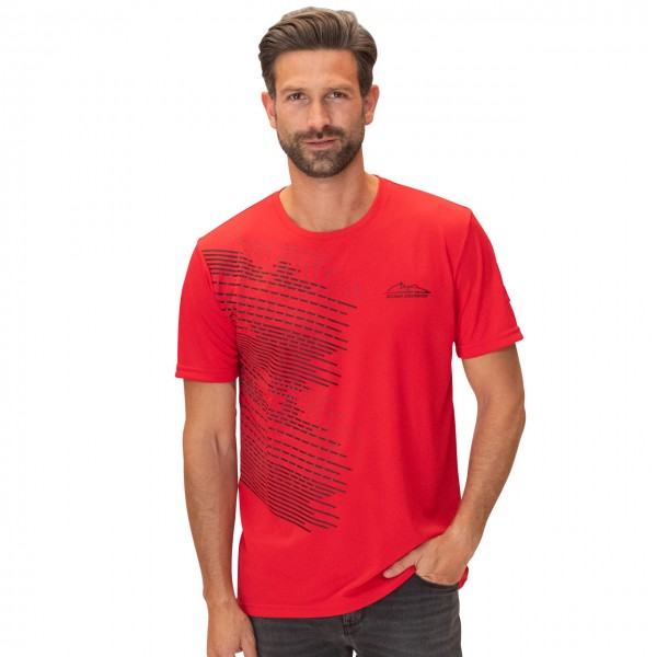 Michael Schumacher T-Shirt Speedline rot