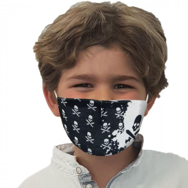 Mund-Nasen Maske Pirat
